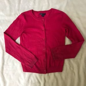 Gap Red Cardigan for Girls -size L(10)